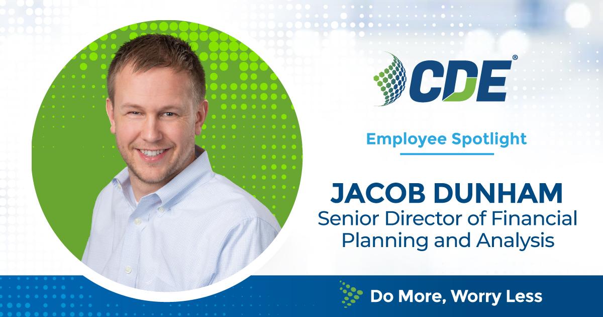 Employee Spotlight Jacob Dunham
